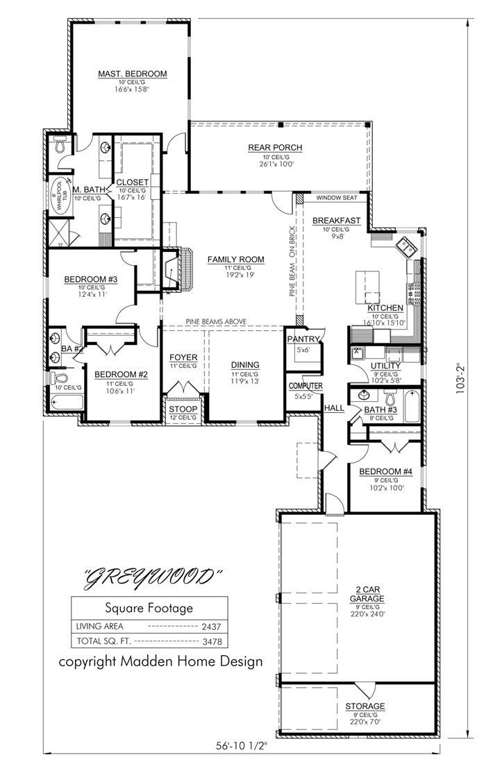 Country House Floor Plans 27 best house plans images on pinterest | house floor plans, dream