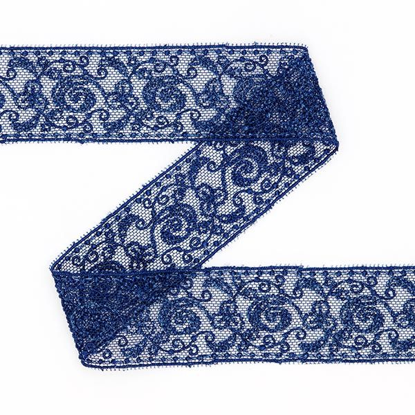 Tulle Lace Insert (25mm) 4 – navy blue