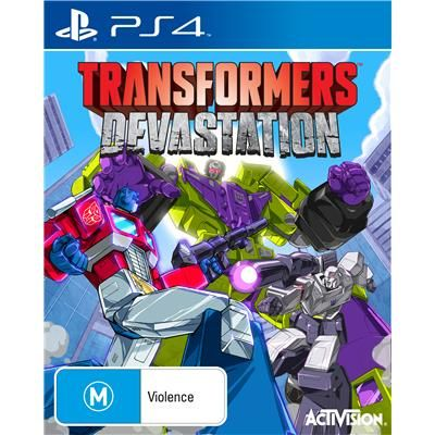 JB Hi-Fi | Transformers: Devastation PS4