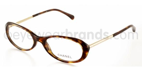 Chanel CH 3217 Chanel CH3217 C714 HAVANA/GOLD Chanel Glasses | Chanel Prescription Glasses from EyewearBrands