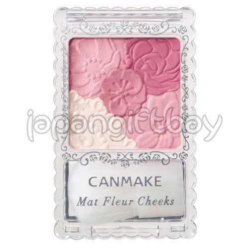 Canmake+Mat+Fleur+Cheeks-+Matte+Romantic+Mauve