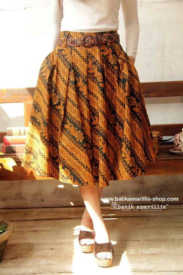 Hey day skirt batik amarillis