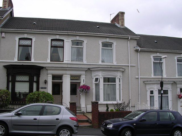 Victorian terrace houses llanelli by gary davies via for Terrace color combination