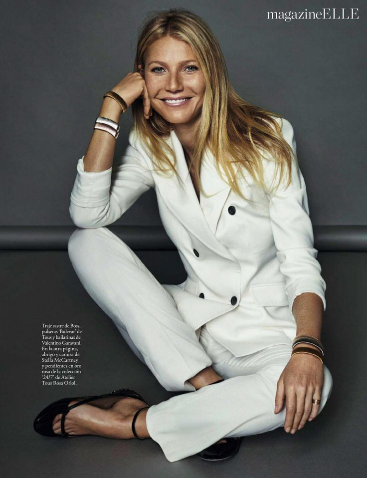 GWYNETH PALTROW in Elle Magazine, Spain January 2017