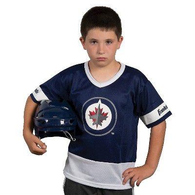 Franklin Sports NHL Team Licensed Hockey Uniform Set for Kids, Kids Unisex, Winnipeg Jets