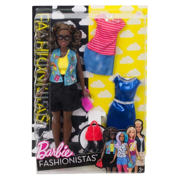 Met een heleboel nieuwe looks zijn deze Barbie Fashionistas poppen de ultieme stijlmodellen! Net als je vriendinnen zijn al deze poppen verschillend. Iedere pop heeft een andere kleur haar, een ander kapsel, een andere kleur ogen en een andere huidskleur en gezichtsvorm. Ze dragen fantastische outfits die aansluiten bij de laatste trends. Ontdek wie je wilt zijn, want met Barbie kun je worden wat je wilt! Van sportieve outfits tot hippe looks, van trendy stippen tot grafische prints, van…