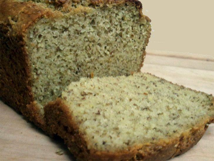 Ψωμί χωρίς γλουτένη με αλεύρι αμυγδάλου και αυγό.  Εκτύπωση Συνταγή: Louise Hendon Υλικά 3 κούπες αλεύρι αμυγδάλου 1/2 κούπα ελαιόλαδο ή λάδι καρύδας