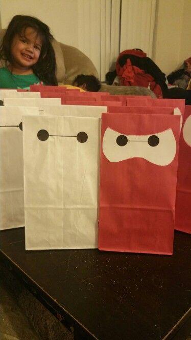 Big hero 6 goodie bags