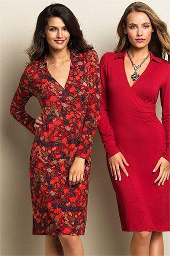 Women's Dresses - Capture Collared Dress