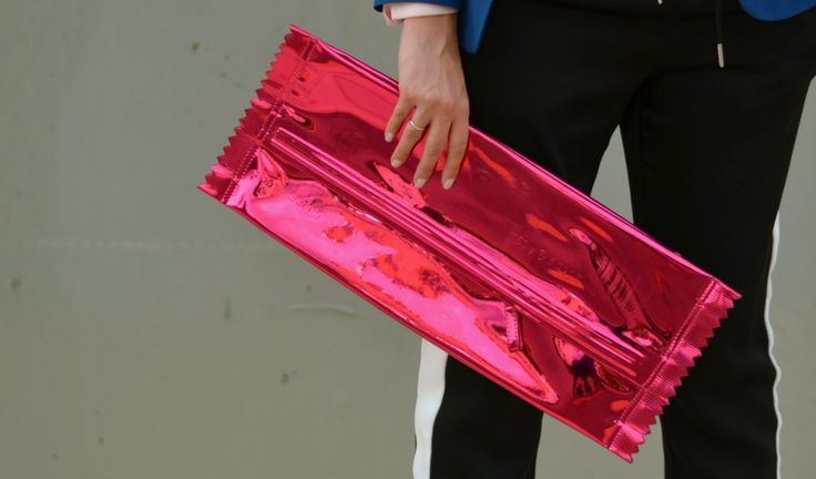 the Maison Martin Margiela x H&M candy cluch bag prettynyummy.com #maisonmartinmargiela #margiela #candy #bag