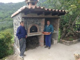 12 best fireplace with pizza oven images on pinterest - Maison mirante do horto par flavio castro ...