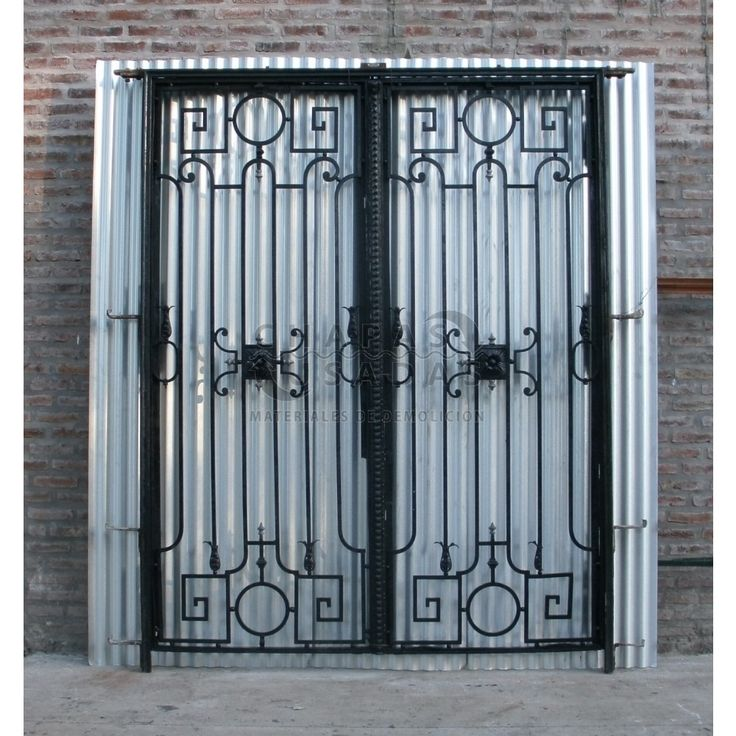 M s de 1000 ideas sobre portones de hierro forjado en - Puertas de hierro para jardin ...