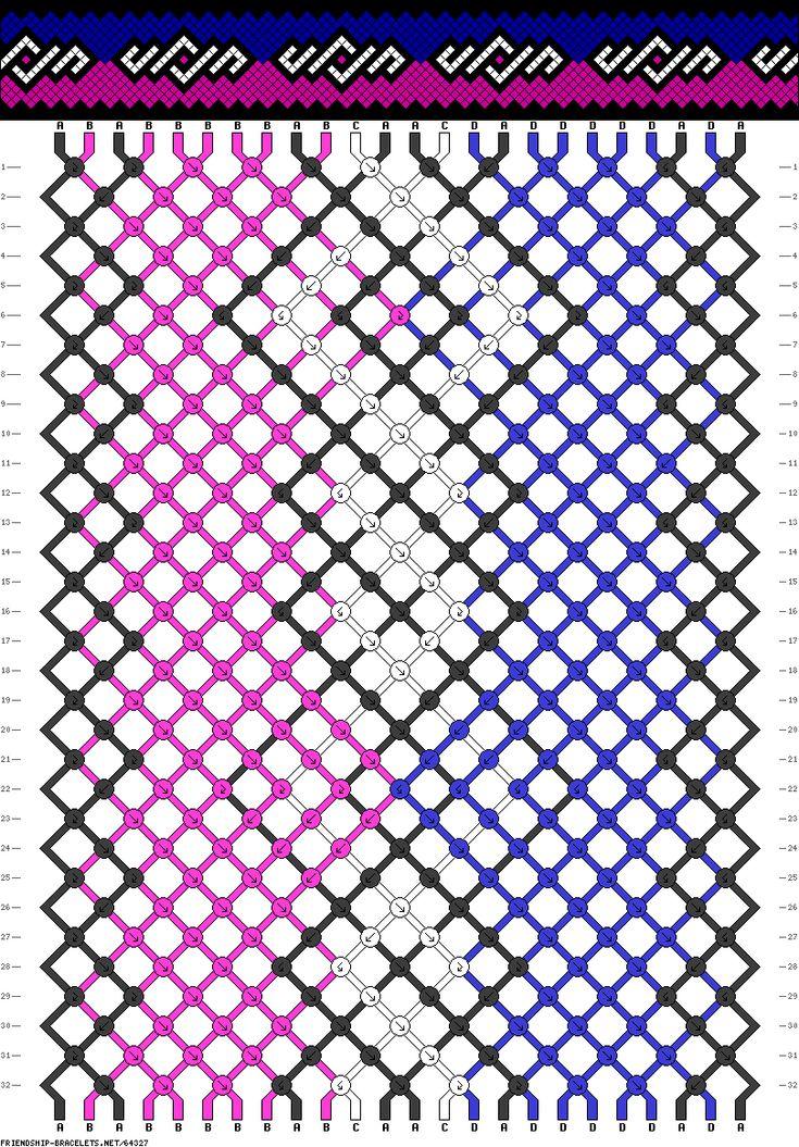 24 strings, 32 rows, 4 colors