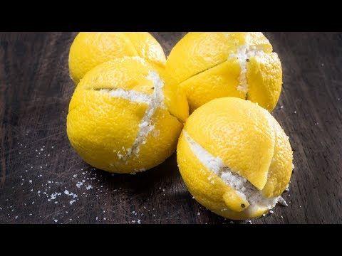 Schneide eine Zitrone und gebe Salz hinzu – Dann lege sie ans Bett und schau was…
