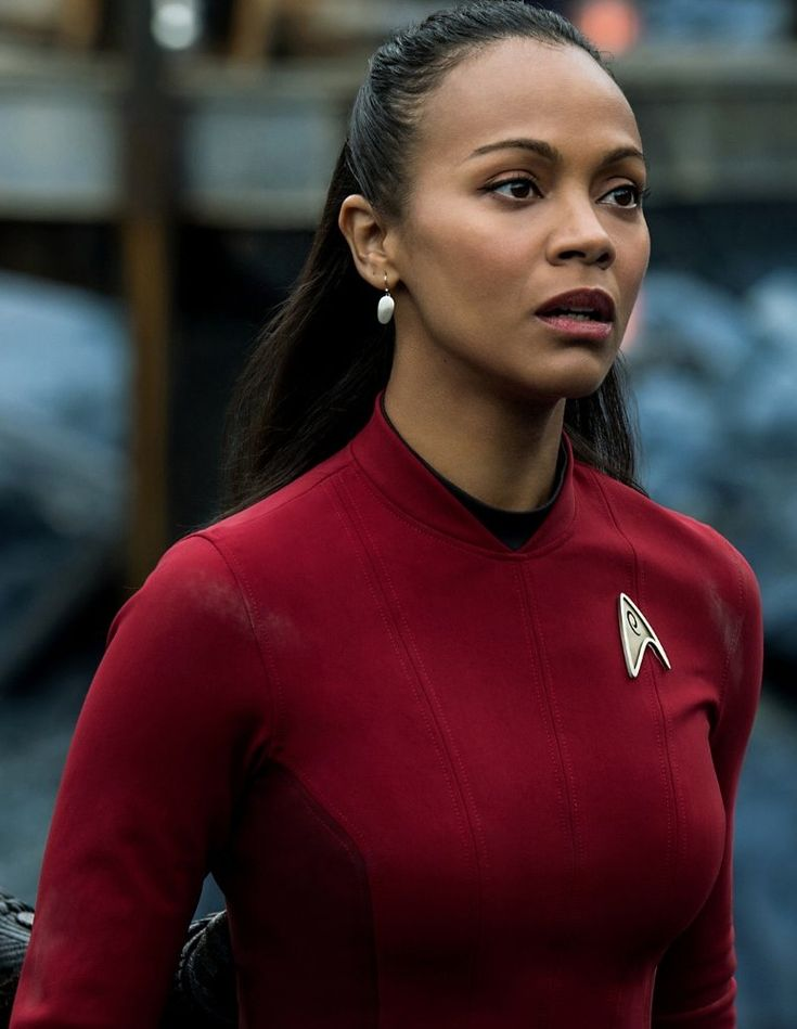 Star Trek Beyond Zoe Saldana Lieutenant Uhura Outfit