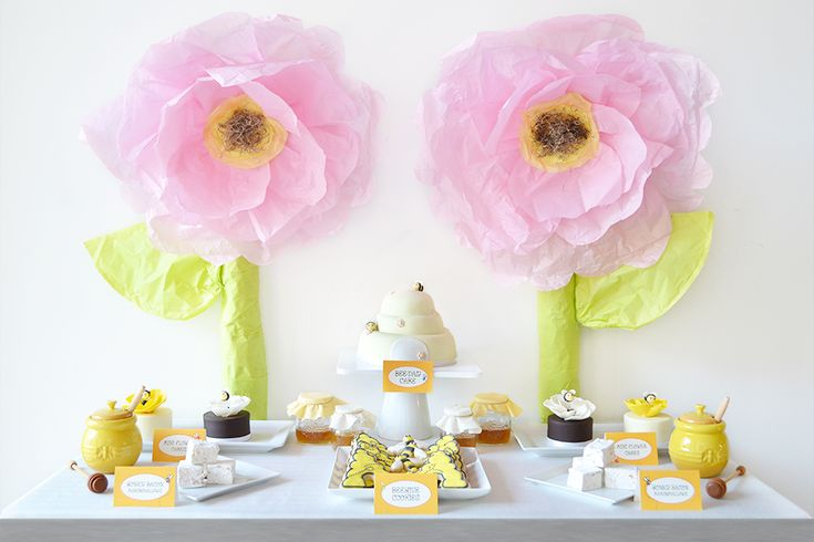 The Bee Experience Dessert Table By Sweet Society