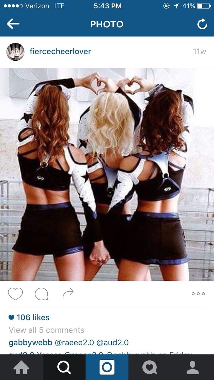 This would be a totally perfect picture of us at a cheer competition @bella and…