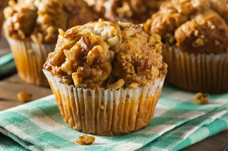 Overripe bananas may flaunt a less-than-appetizing appearance, but they're your ticket to mouthwateringly-moist baked goods like banana nut muffins.