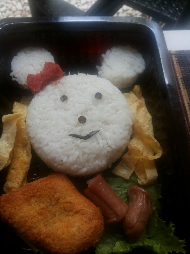Bento minnie mouse