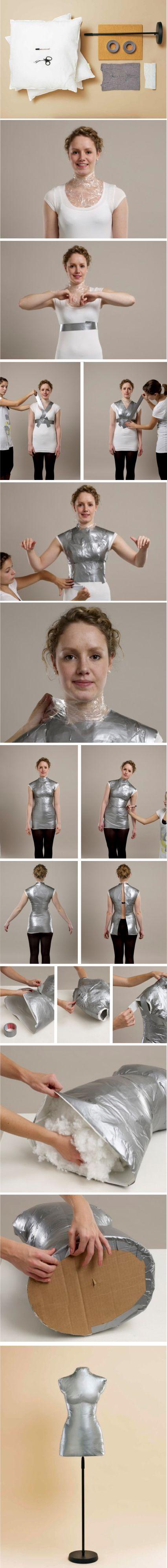 How to make a personalized dress form » Random Tuesdays