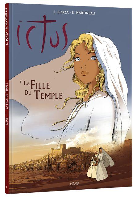 """Chrétiens Magazine - """"Voici la première bande dessinée de la série Ictus sur la Vie de Jésus d'après l'Évangile tel qu'il m'a été révélé de Maria Valtorta. C'est une publication d'une qualité exceptionnelle !"""""""