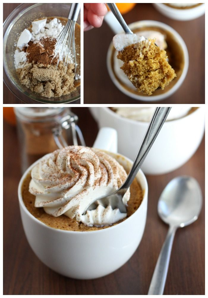 If you've never made a mug cake before, you are in for a treat. You can satisfy your cake craving in 5 minutes with a Pumpkin Spice Mug Cake!