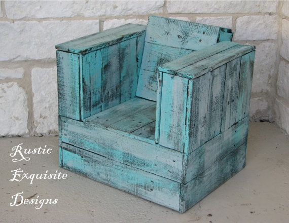 Rustic Kids Chair Interior or Exterior by RusticExquisiteDsgn, $175.00