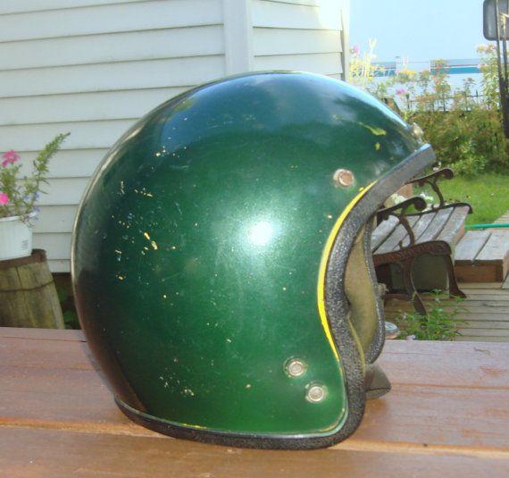 ... Motorcycle Helmets on Pinterest | Vintage, Scooter helmet and Flakes
