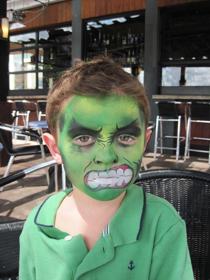 htps://www.facebook.com/faces.by.juliet The Hulk!!