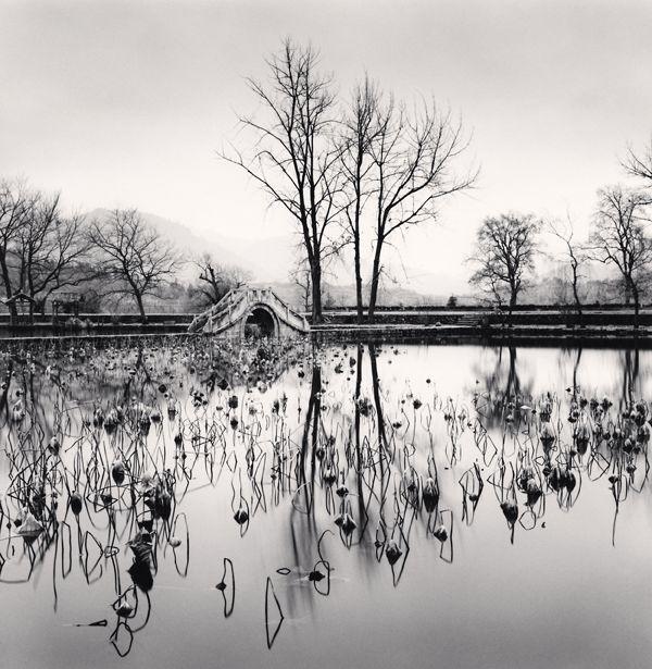 Lake Bridge, Hongkun, Anhui, China, 2008 by Michael Kenna