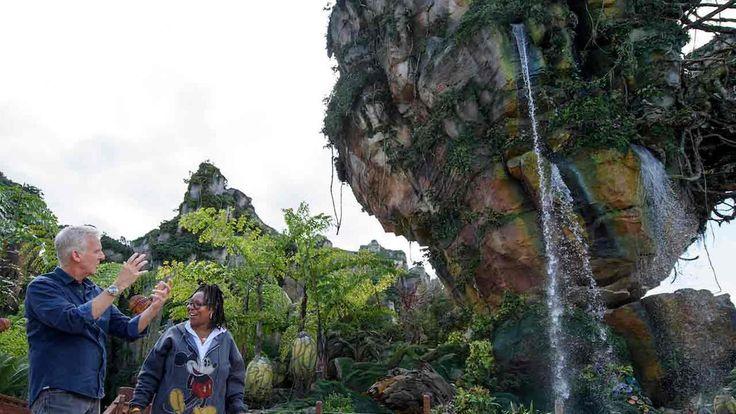 Catch a sneak peek of the new Avatar land at Walt Disney World | abc7.com