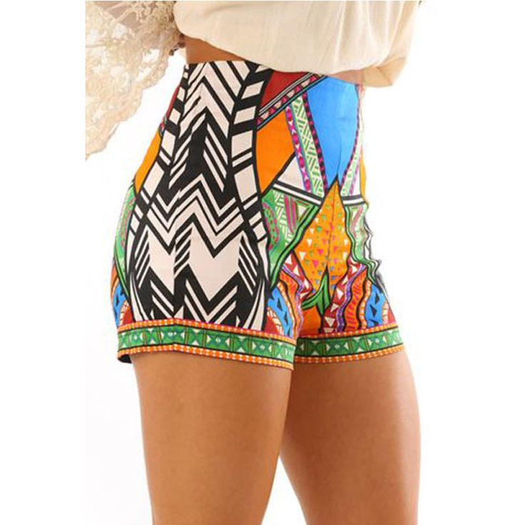 Liva Girl Summer Shorts /Women's Baggy Shorts Pantalones Cortos Mujer Bermudas Mulheres Casual Broadcloth Printing Female Shorts #Affiliate