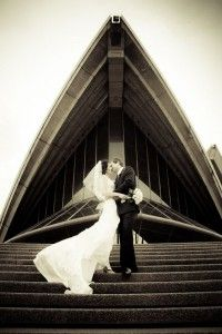 The Opera House is one of the iconic Sydney wedding photography locations