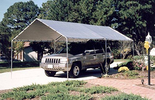 King Canopy 10 x 20 ft. Canopy Carport - 6 Legs