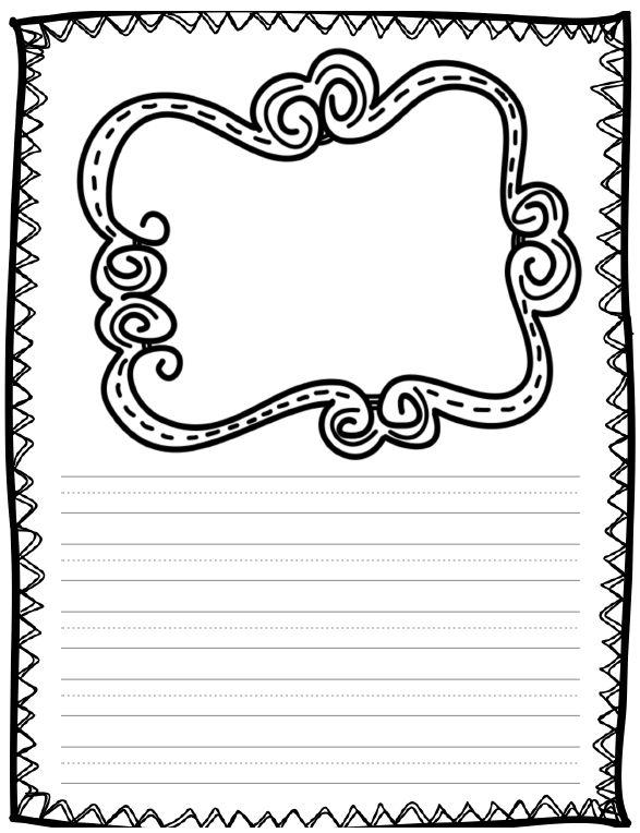 Рисунок для письма