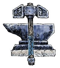 images of the crest of the dwarven god kord | DnDWiki:Deity - Dungeons and Dragons Wiki