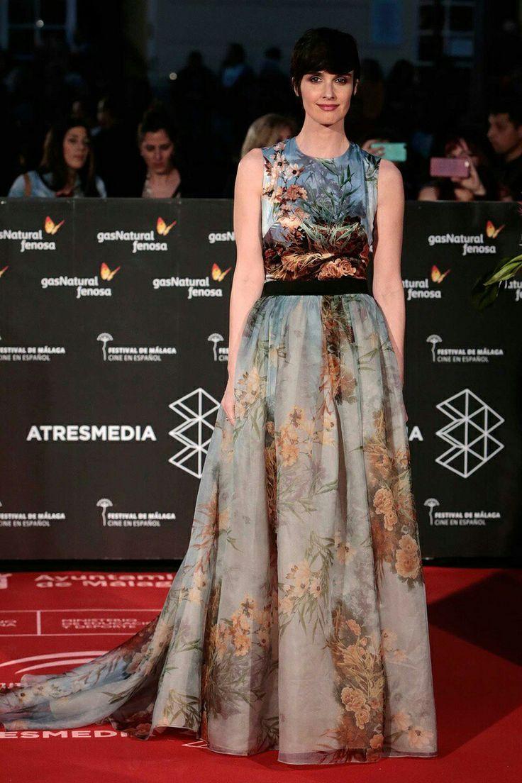 Festival cine malaga vogue.es paz vega long dress
