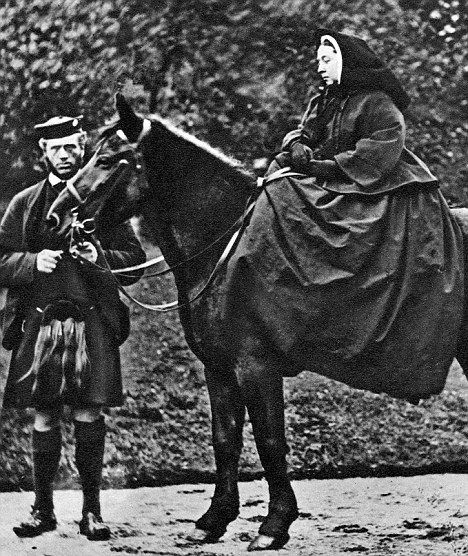 Queen Victoria and John Brown | ... ghillie, John Brown who she secretly married according to a source