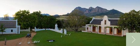 Babylonstoren: restaurant and accommodation, Stellenbosch