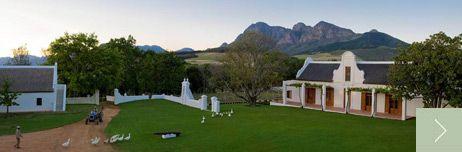 Babylonstoren: restaurant and accommodation, Stellenbosch
