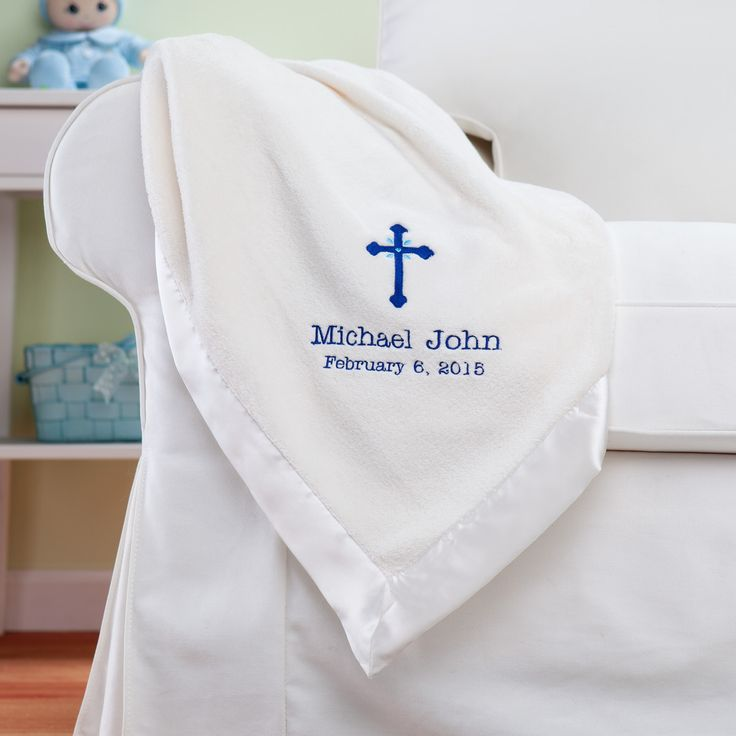13 best religious gift ideas images on pinterest religious gifts precious cross for him personalized cream baby blanket religious events occasion personalized planet negle Gallery