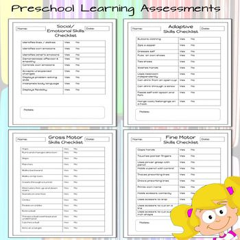 The  Best Preschool Assessment Forms Ideas On