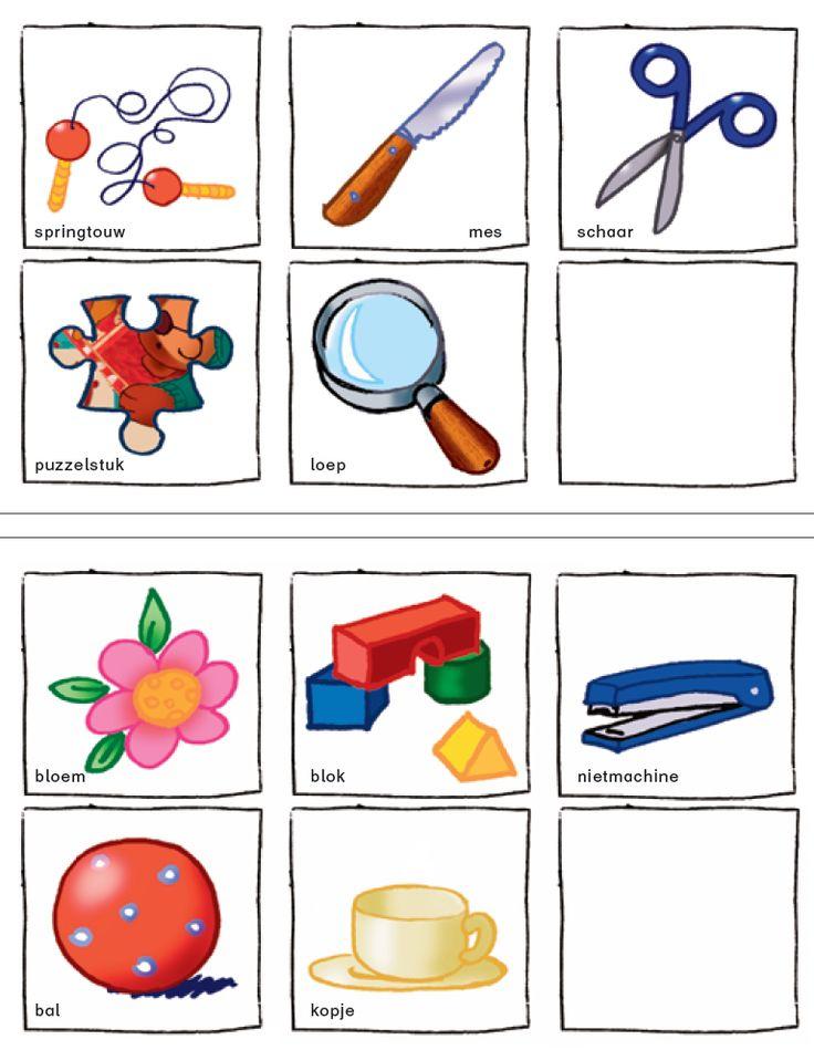 Thema klas, vriendjes, terug naar school - Zoekspel in de klas - prenten - gratis download - 3e kleuterklas