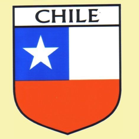 For Everything Genealogy - Chile Flag Country Flag Chile Decals Stickers Set of 3, $15.00 (http://www.foreverythinggenealogy.com.au/chile-flag-country-flag-chile-decals-stickers-set-of-3/)