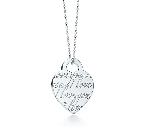 Tiffany Amp Co Item Tiffany Notes Quot I Love You Quot Heart