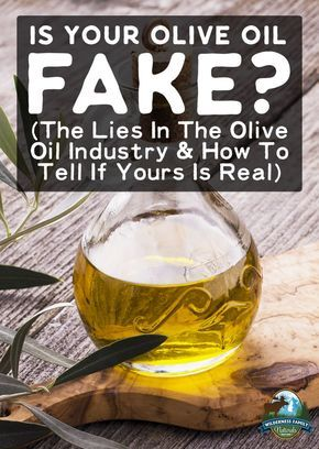Is Your Olive Oil Fake? (The Lies In The Olive Oil Industry & How To Tell If Yours Is Real) | Let's expose the lies in the olive oil industry, including how real olive oil is cut with cheaper vegetable oils. Then, learn how to tell if your olive oil is real or an imposter.