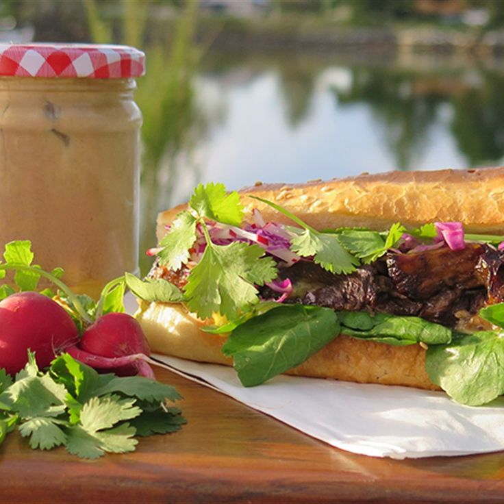 Try this Pork Belly Banh Mis recipe by Chef Paul West . This recipe is from the show River Cottage Australia.