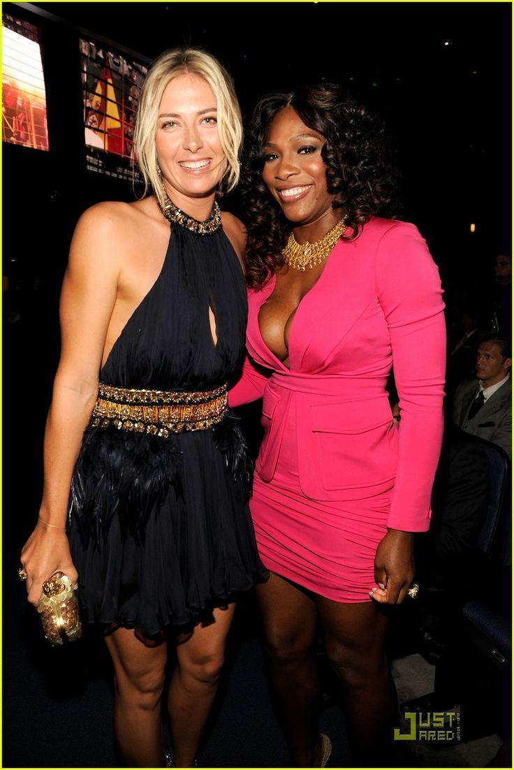 Serena Williams & Maria Sharapova at 2011 ESPY Awards