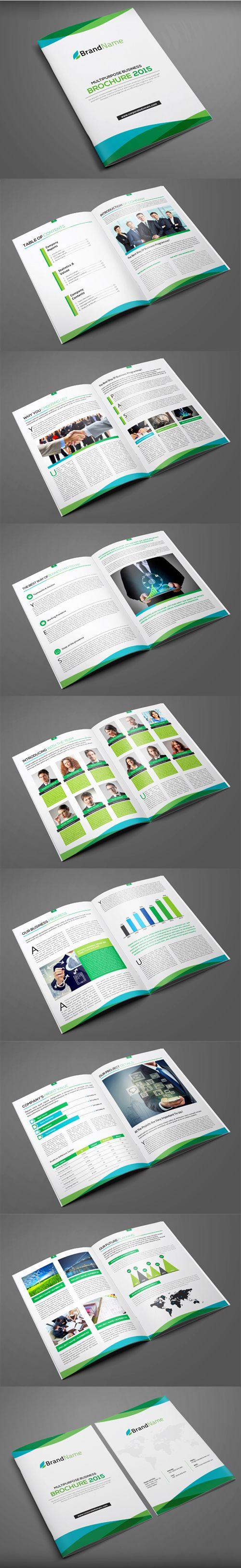 Multipurpose Brochure Design #booklet #brochuredesign #brochuretemplates #catalogdesign