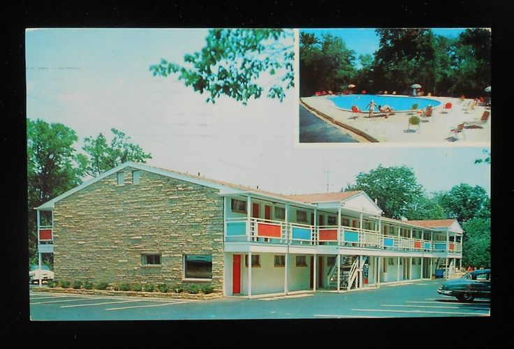 Park Motel, Located on Route 35, just north of Asbury Park Traffic Circle, Allenhurst, NJ - 1958